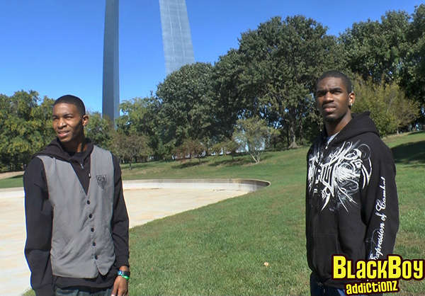 Freaky J and Isaiah Visiting the St Louis Arch