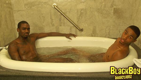 Freaky J and Isaiah In Jacuzzi Bathtub